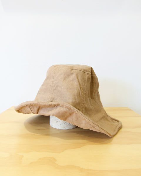 Wellington Factory Everyday Hat Woman in Taupe at Heyday Store Adelaide