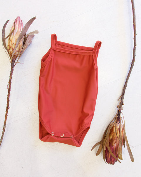 Unisex Swimsuit - Terracotta