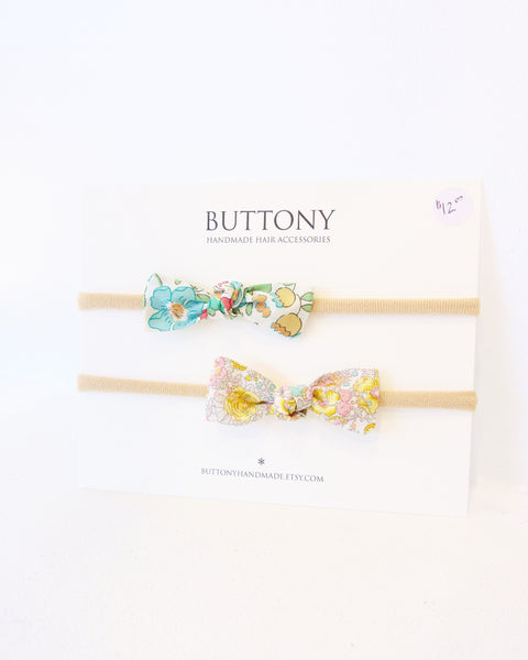 Blossom Bows Headband - Set of 2