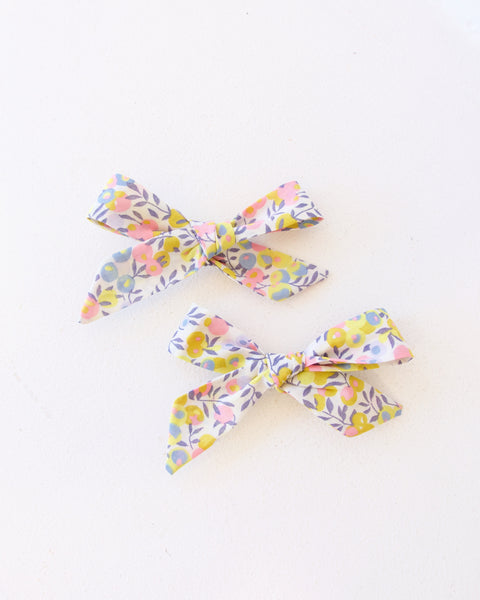Schoolgirl Pigtail Bows - Set of 2