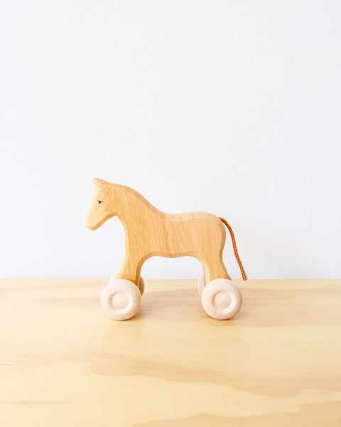 Grimm's Fillou Wooden Horse - Small - Heyday Store Adelaide