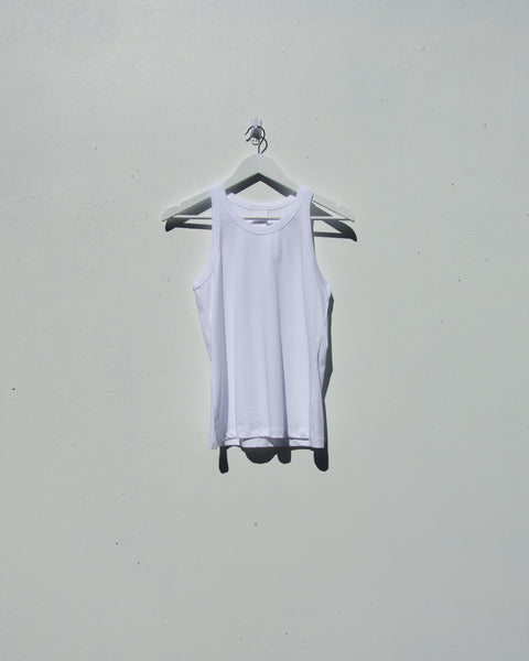 Kowtow - Racer Back Singlet - White - Heyday Store