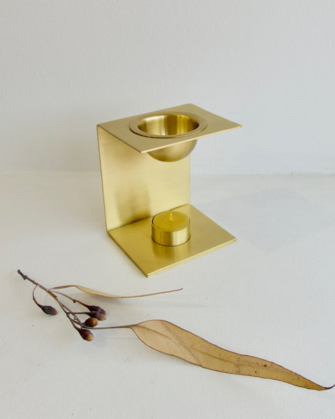 Brass Essential Oil Burner