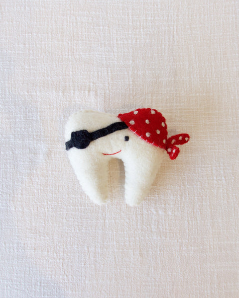 Pirate tooth cushion