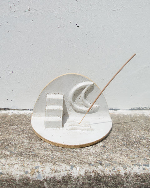 Stairway To The Moon Incense Holder/Altar