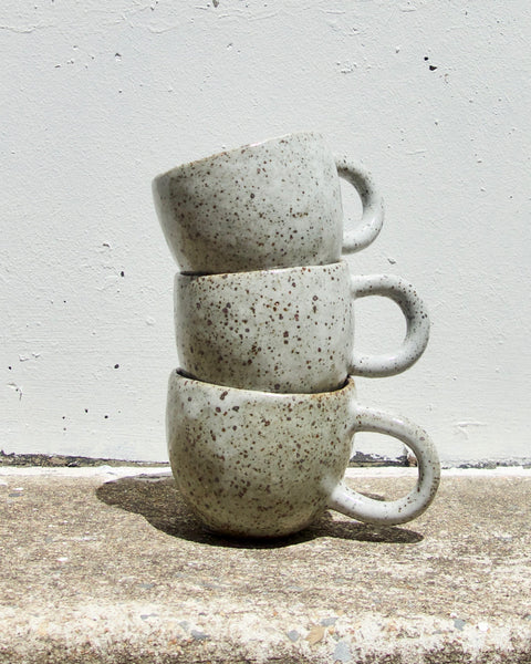 Loopy Handle Mug - Grey