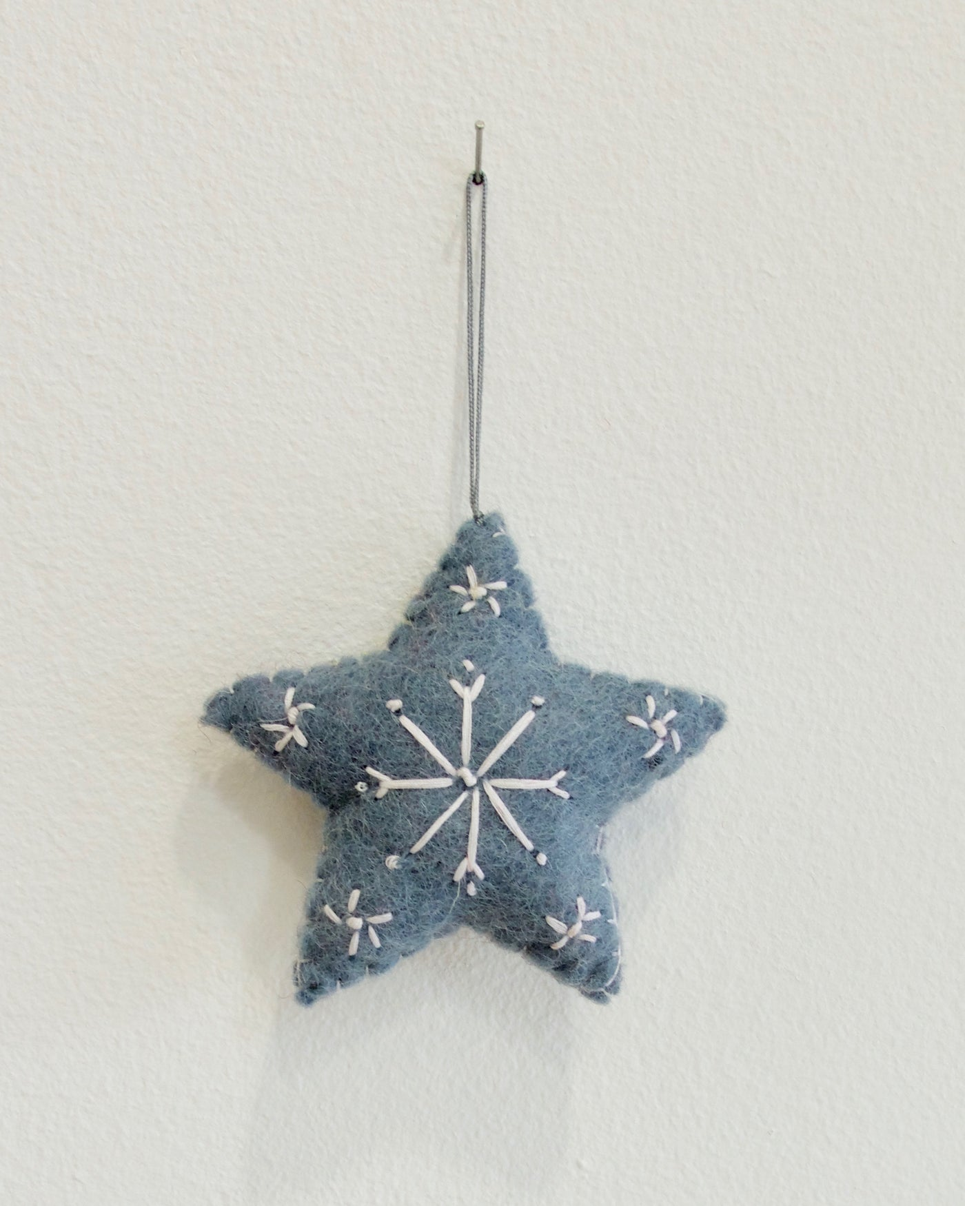 Star Christmas Ornament - Blue