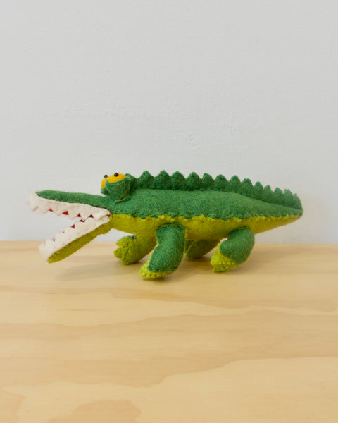 Crocodile Felt Toy