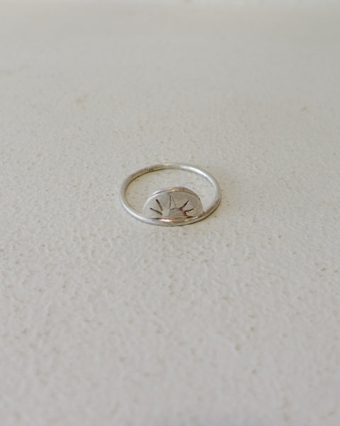 Sunrise Ring - Sterling Silver