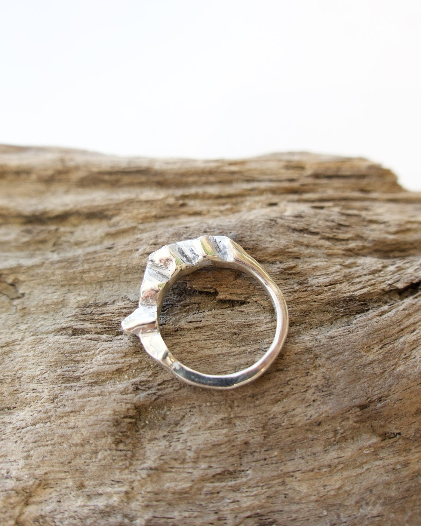 Erosion Ring - Silver