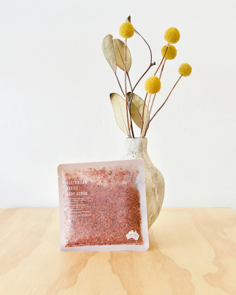 Addition Studio - Native Australian Body Scrub Sachet - Heyday Store