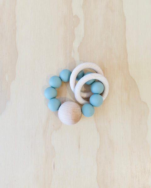 Saturn Teether - Sage