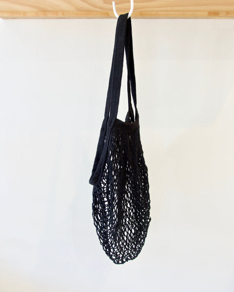 Eco String Bag - Black