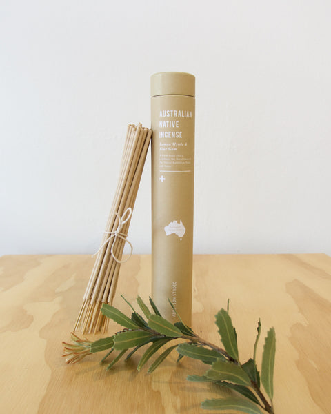 Lemon Myrtle and Blue Gum Incense Sticks
