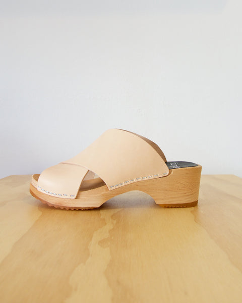 Jonna Clog - Natural - LAST SIZES (36 & 41)!