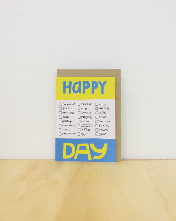 Happy Different Day Card