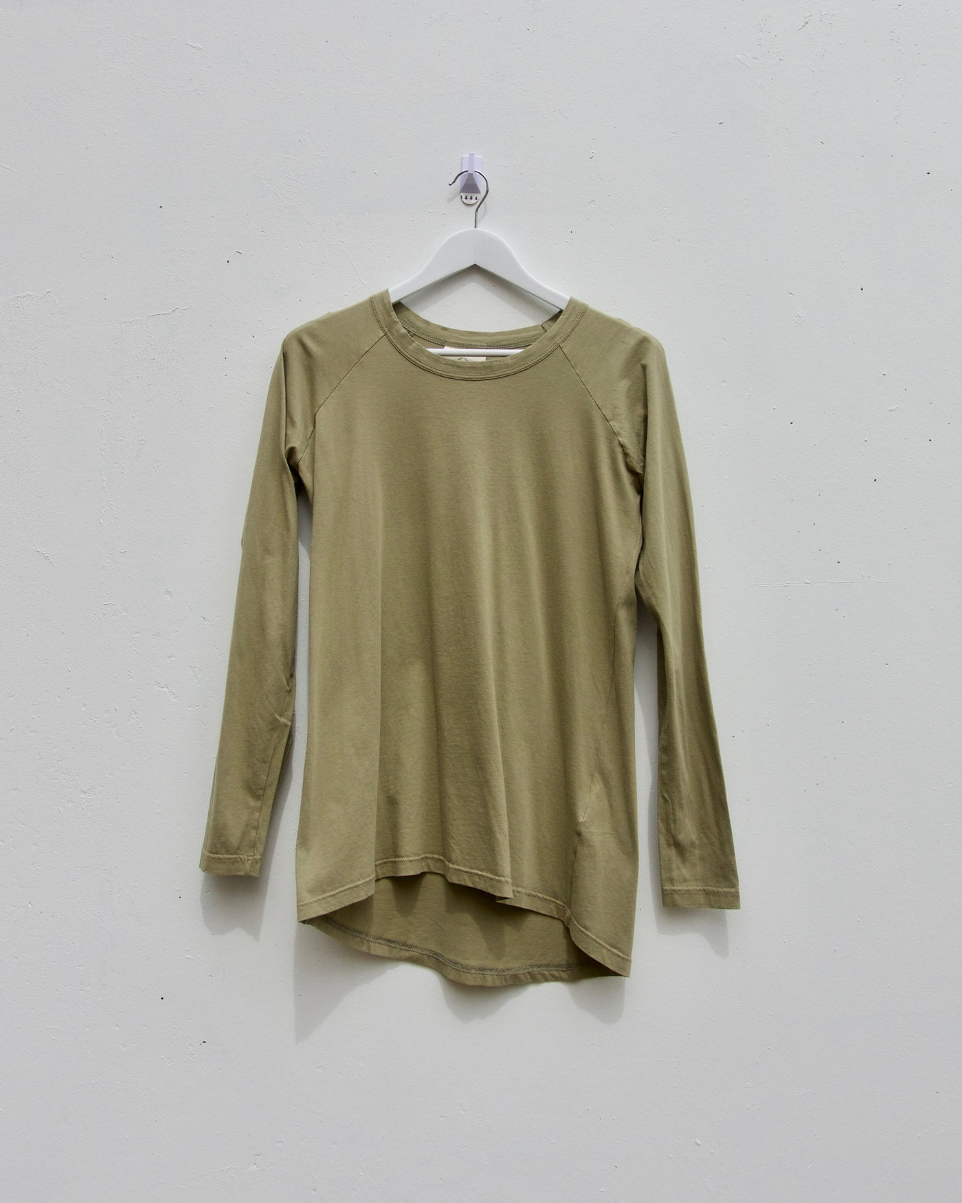 Layer Me Long Sleeve Tee - Khaki - LAST ONE (size 2)!