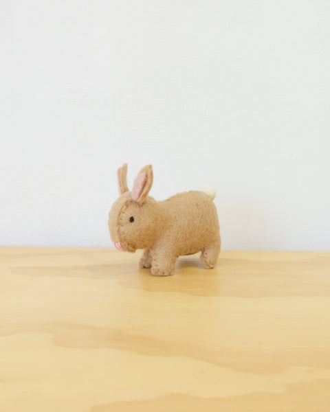 Easter Bunny Figurine - Natural