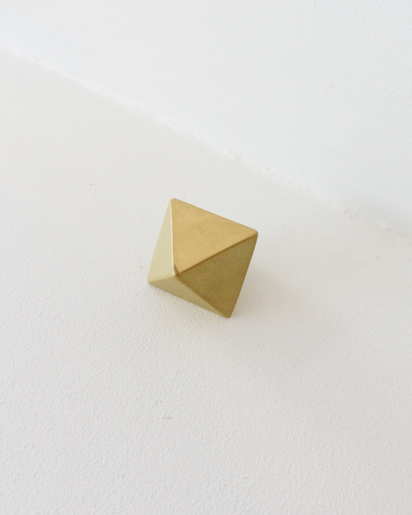 Brass Paper Weight - Triangle