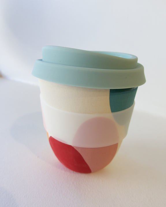 Reusable Take Away Cup - Rainbow