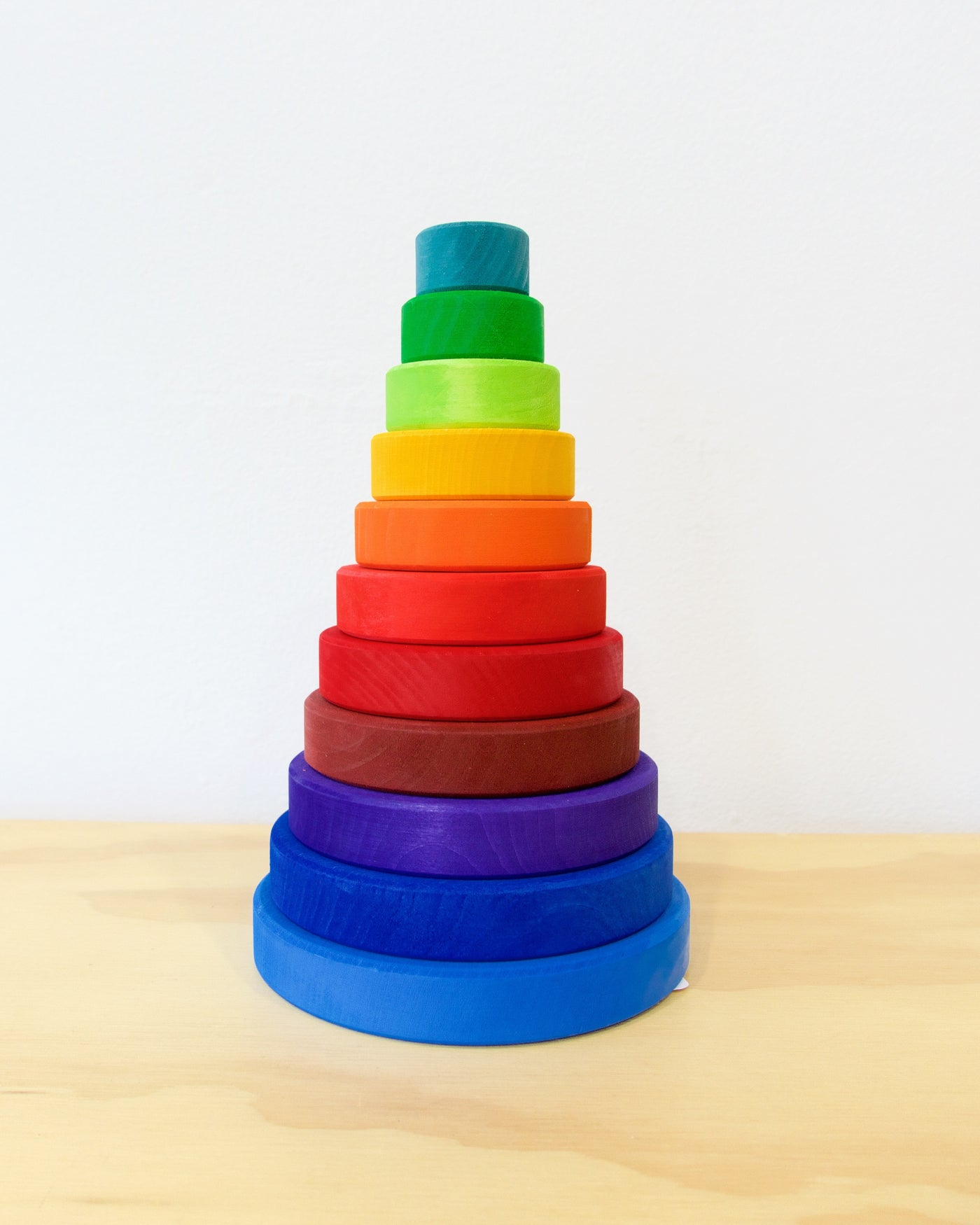 Stacking Tower - Rainbow - Large