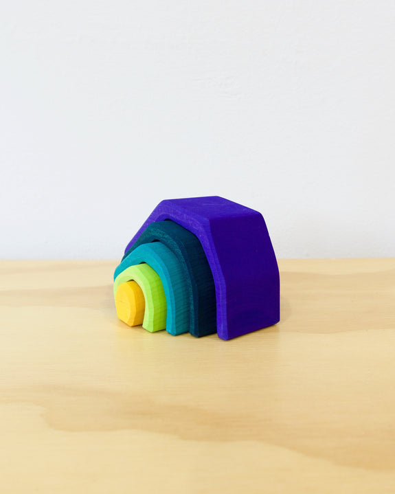 Stacking Cave - Rainbow - Small