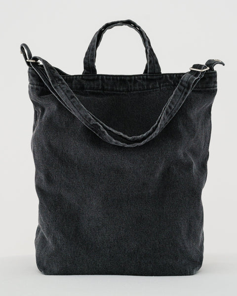Duck Bag - Washed Black Denim