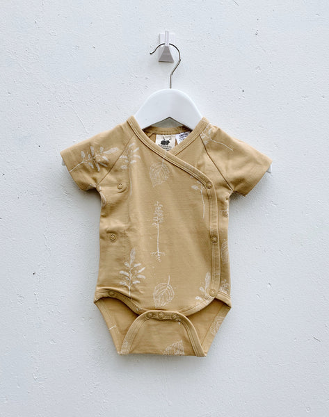 Wrap Bodysuit - Honey