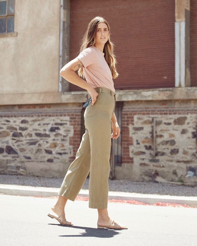 Newport Pant - Olive - LAST ONE (14)!