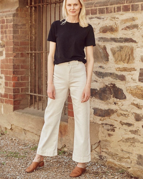Newport Pant - Natural - LAST ONE (14)!