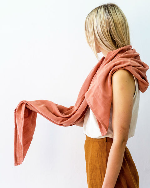 Organic Cotton Earth Wrap - Terra Rose