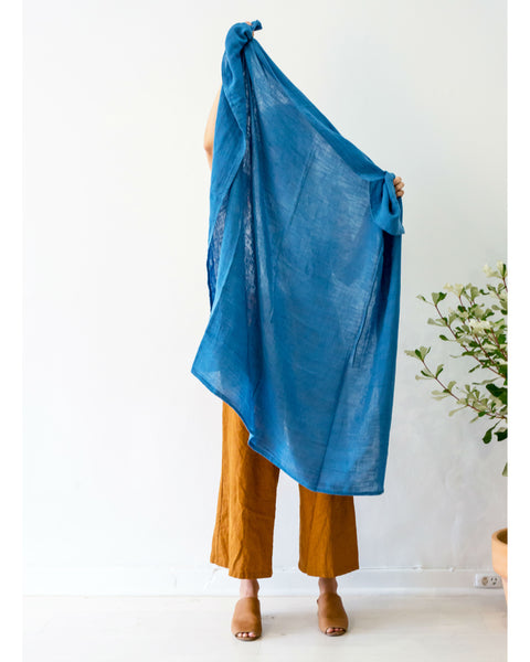 Organic Cotton Earth Wrap - Blue Bird