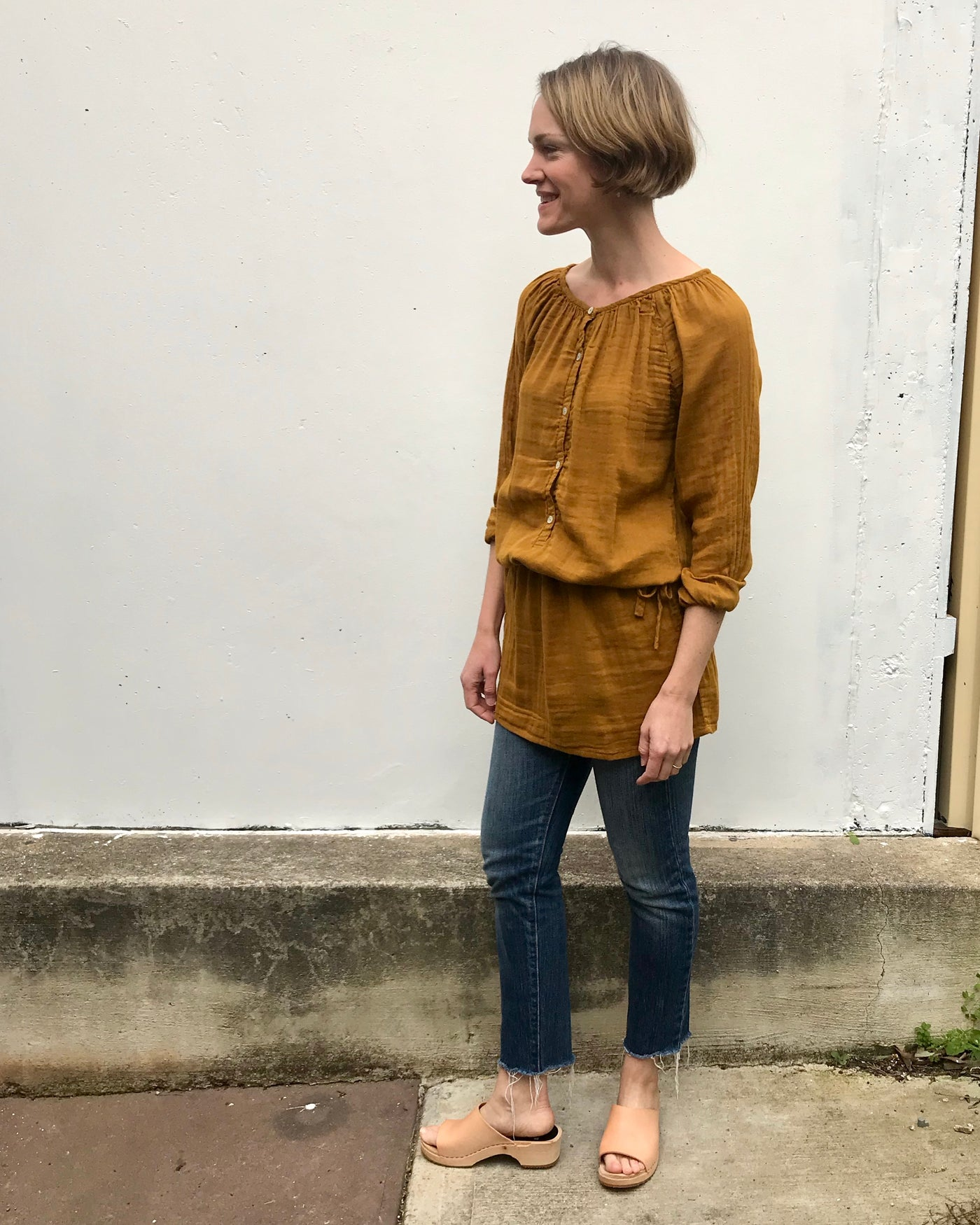 Naia Tunic / Dress - Gold
