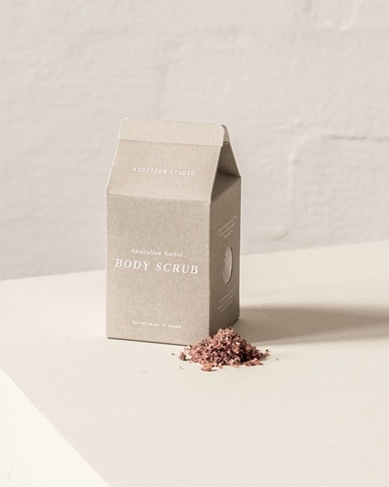 Addition Studio - Australian Native Body Scrub - Heyday Store