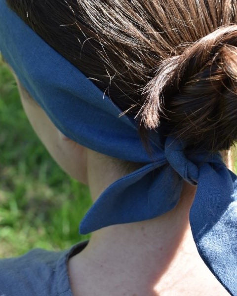 Headscarf - Marine Blue