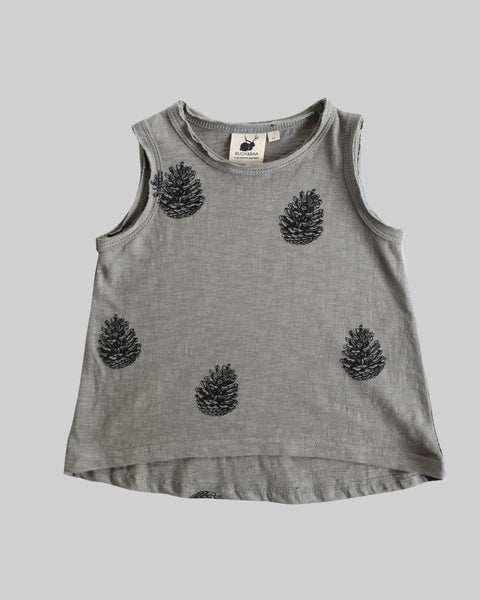 A-Line Singlet - Pinecone