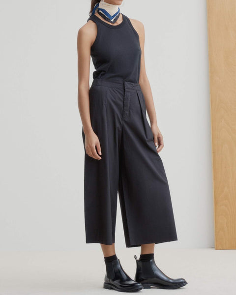 Pleat Pant - Black