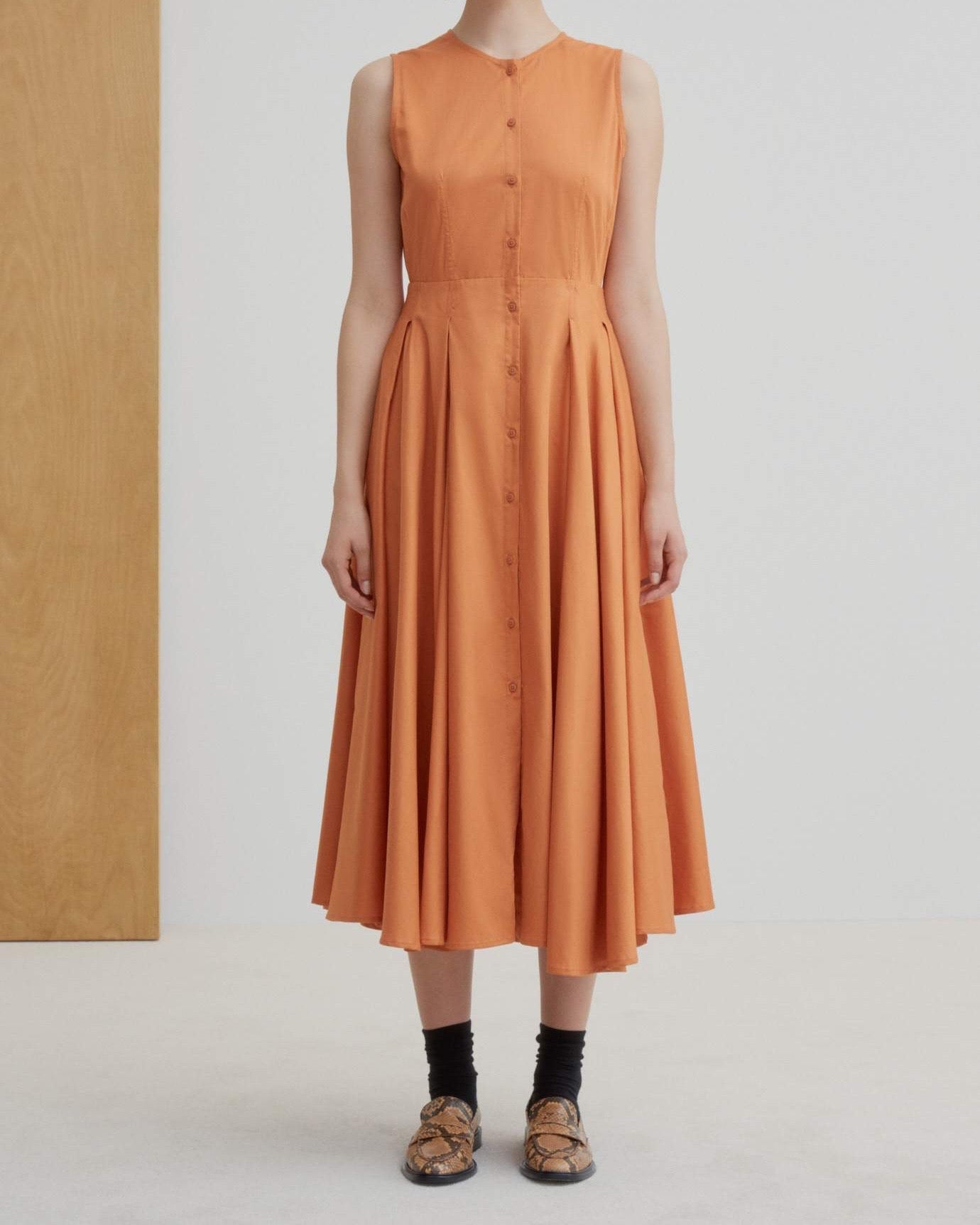 Reflect Dress - Orange