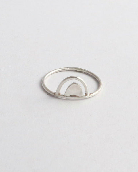 Double Arch Ring - Sterling Silver