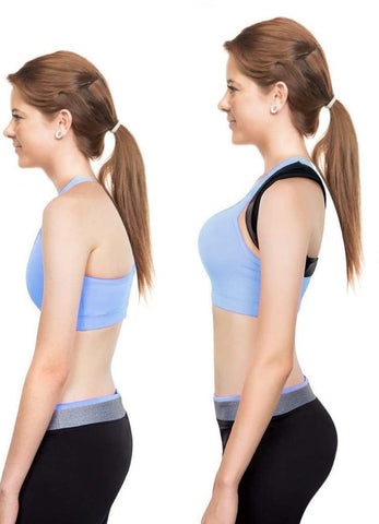 Clavicle Spine Back Shoulder Lumbar Brace Support Belt Posture Correction