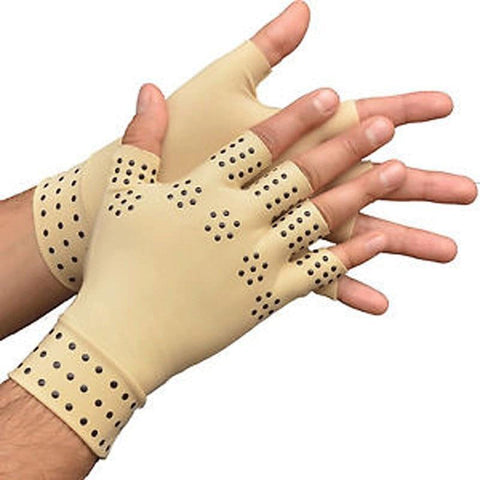 Arthritis Therapy Gloves Relief Arthritis Pressure Pain Heal Joints Magnetic Therapy Gloves Support Hand Massager Toiletry