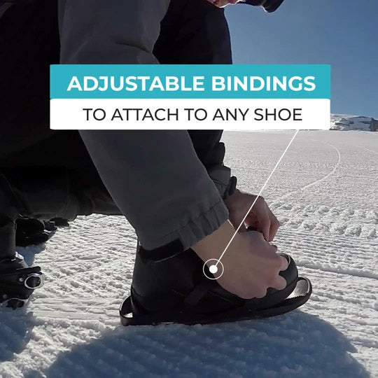 Adjustable Bindings to Attach to Any Shoe