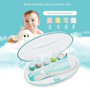 Electric Safe Baby Nail Trimmer - PeekWise