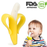 Baby Banana Toothbrush Teether Toy - PeekWise