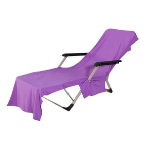 Lounge Chair Cover Beach Cooling Towel - PeekWise