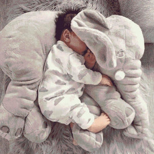 Elephant Plush Toy Pillow - PeekWise