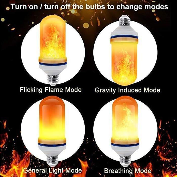 Gravity Sensor LED Flame Light - PeekWise