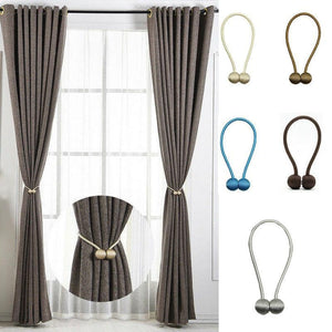 Magnetic Curtain Tiebacks - PeekWise