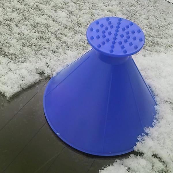 Magic Cone® Snow Removing Scraper - PeekWise