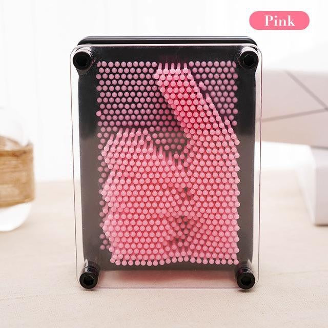 3D Pin Art Impression Board - PeekWise